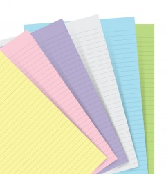 Filofax Notebooks - Papel lineado - Surtido Pastel - Pocket