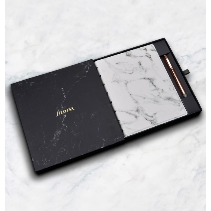 Set de regalo Filofax Notebooks Architexture - A5 - Marble