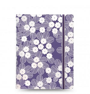 Filofax Notebooks Impressions - A5 - Purple & White