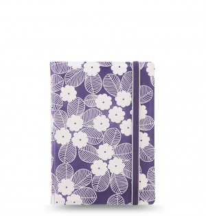 Filofax Notebooks Impressions - Pocket - Purple & White