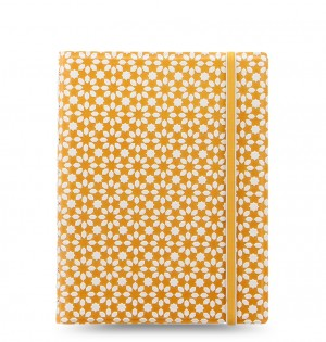 Filofax Notebooks Impressions - A5 - Yellow & White
