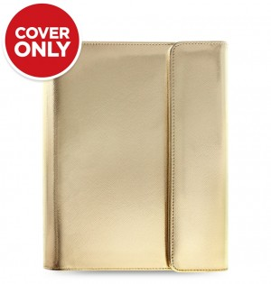 Funda tableta Saffiano Metallic Wrap - Large - Gold