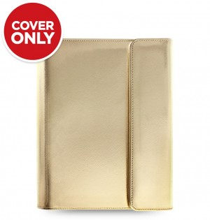 Funda tableta Saffiano Metallic Wrap - Small - Gold